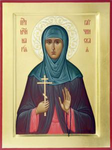 Преподобномученица Мария Гатчинская, находящаяся в Гатчинском Павловском кафедральном соборе